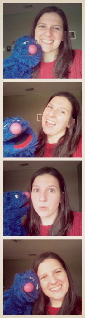 Selfies with Grover