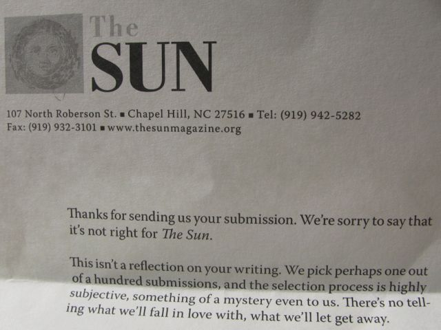 TheSunRejection