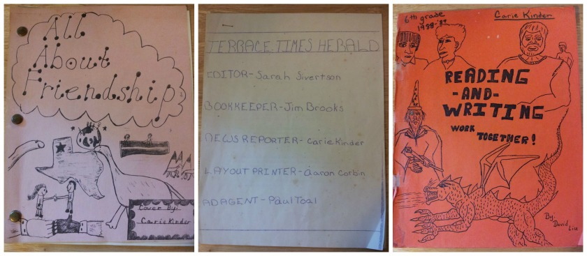 Publications from my 2nd grade, 4th grade, and 6th grade classes at Terrace Elementary School