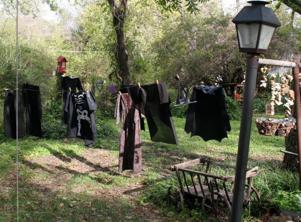 The witch's laundry