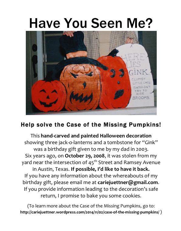 MissingPumpkinsFlyer