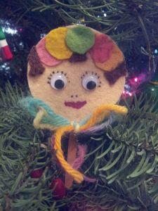 Lollypop Ornament