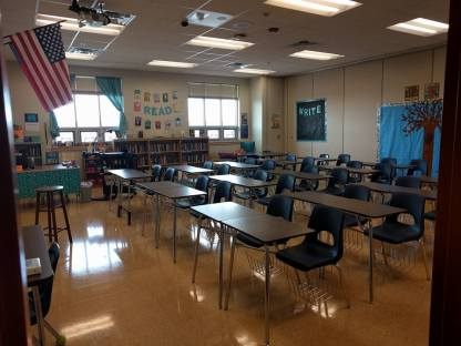 My current classroom