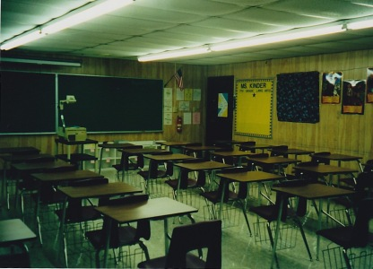 My first classroom
